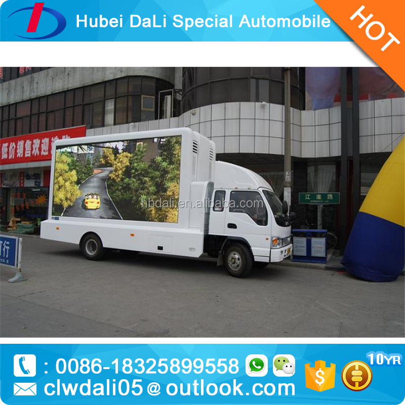 New arrival mini Out-door LED mobile advertising truck for sale