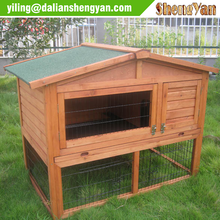 Wooden Custom Rabbits Hutch Design