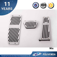 NEW 3 Series Gas and brake pedal for BMW F30 Accelerator pedal (AC type) silver & black Auto accessories from Pouvenda