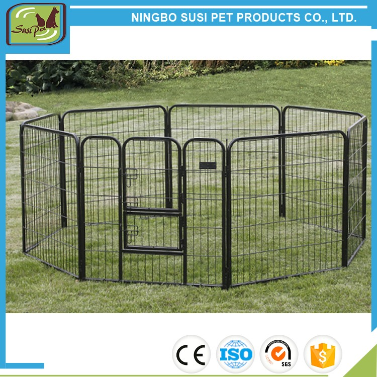 wholesale cheap 8 Panels Portable Puppy Exercise Fence dog play pen