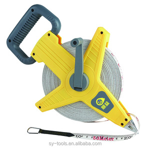 fiberglass waterproof 100 meter tape measure