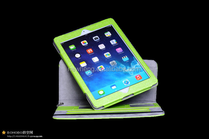 best selling stand leather case for ipad case