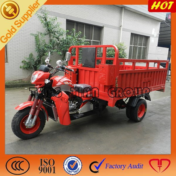 top 3 wheel chinese cargo tricycle in Africa/three wheel cargo motorcycle