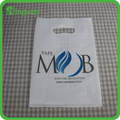 Eco-friendly HDPE/LDPE die cut patch handle bag,plastic shopping bag,poly packaging bag