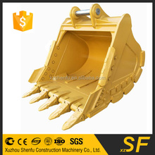 Price of used excavator rock bucket