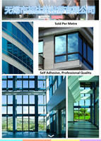 Blue tint color Window film