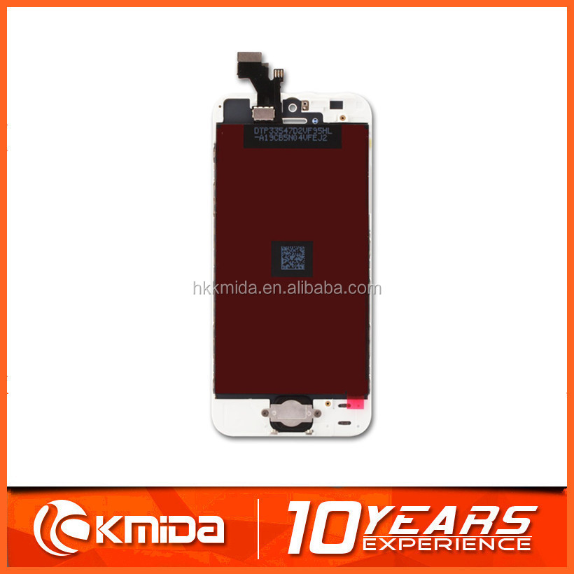 best quality factory price for iphone 5 LCD touch sreen