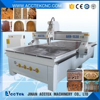 top selling cnc router AKM1325 for wood carving wire cutting with high speed spindle motors