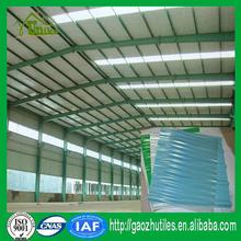 0.8mm thickness fire-retardant corrugated fiberglass house roofing panels