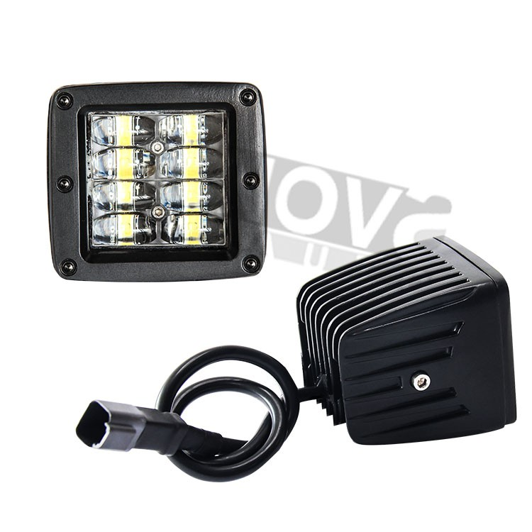 Industrial Work Lights 4 ROW Work Lamp LED 16W Watts 2 Inch Pod Light