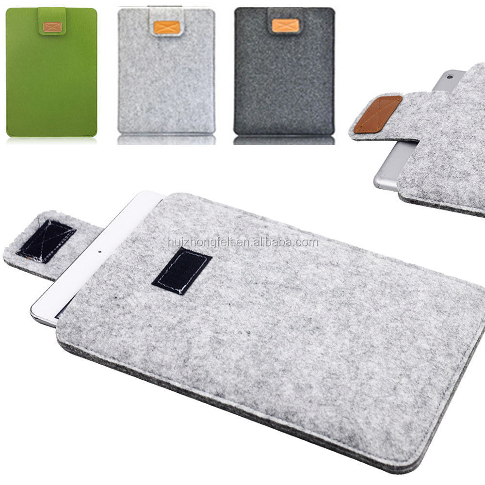 supply high quality felt mobile phone case