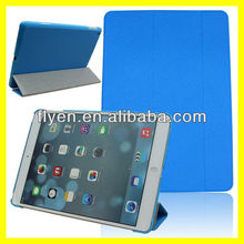 cheapest Cambridge blue cross pattern Ultra Slim Smart Magnetic trifolding pu Leather Case Cover For New Apple iPad 5 Air 2013