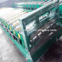 Asian popular roof and wall panel roll forming machine