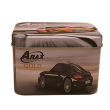 Eco-friendly Small Car Packaging Box,Empty Metal Tin Box