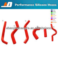 silicone rubber radiator hoseFor NISSAN SKYLINE R32 R33 R34 GTR RB26 INTERCOOLER HOSE KIT 90 degree elbow reducer silicone hoses