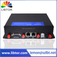 high speed Industrial grade cellular WiFi router Providing serial port and USB connector