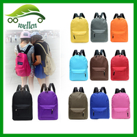 wholesale china customized logo cheap vintage waterproof nylon high school backpack