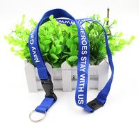 Promotional Cheap Custom Printed Polyester Neck Lanyard with custom Logo