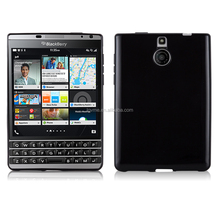 TPU Soft Gel Case for Blackberry Passport Silver Edtion