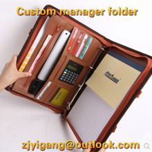 A4 A5 A6 vintage genuine new 2015 leather notebook office supply manufacturer