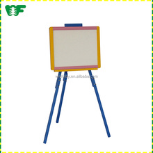 New low MOQ children toy floor easel stand
