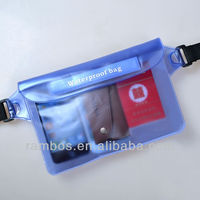 Air tight and water tigh waterproof bag case for swimming diving