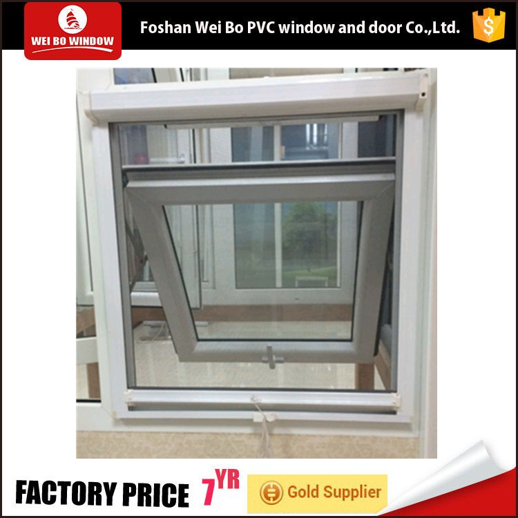 2018 Plastic cheap house pvc awning windows for sale