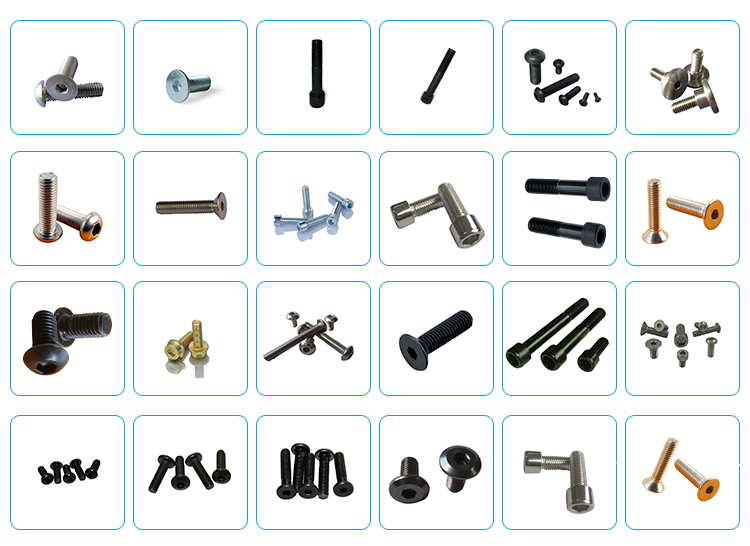 hex socket furniture joint connector bolts