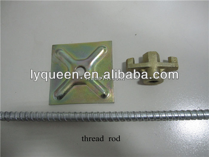 Formwork Tie Rod With Anchor Nut