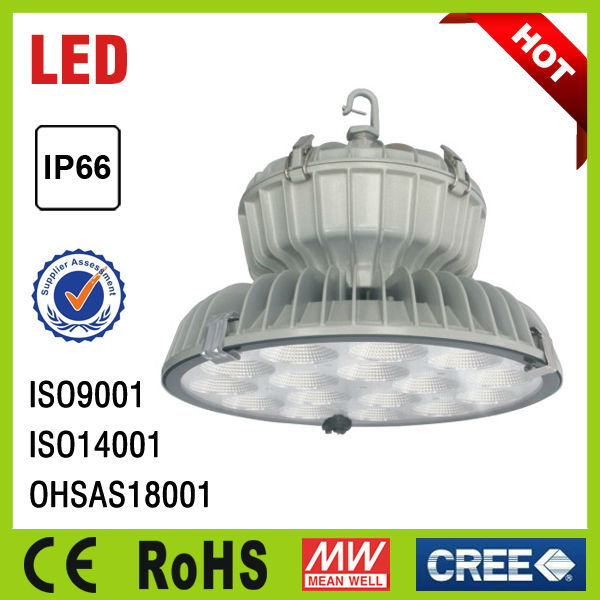 Outdoor & Indoor Aluminium alloy housing IP66 led high bay light with CE ROHS