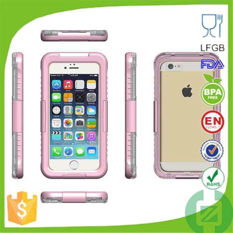 china supplier waterproof case for iphone 6