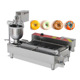 Commercial Donut Forming Machine/ Snack Donut Ball Maker/ Doughnut Making Frying Machine In Snack Food
