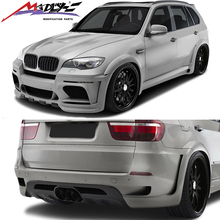Madly GAF Body Kit X5 e70 Body kit Style HM Y Middle Exhuast