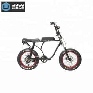 20inch 48V 500W FAT ELECTRIC BIKE cruiser fat tire beach ebike snow bike