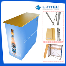 factory supplying poster laminate folding table for outdoor activities and promotion