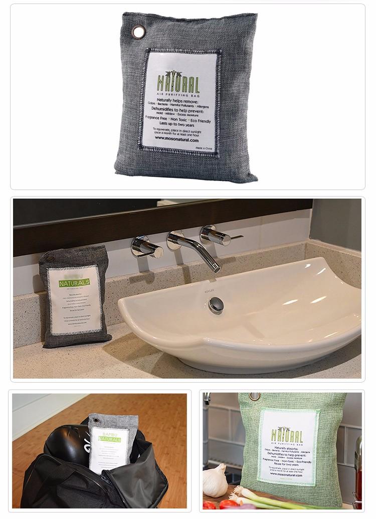 En vrac désodorisant charbon de bambou purification de l'air sac déodorant prix