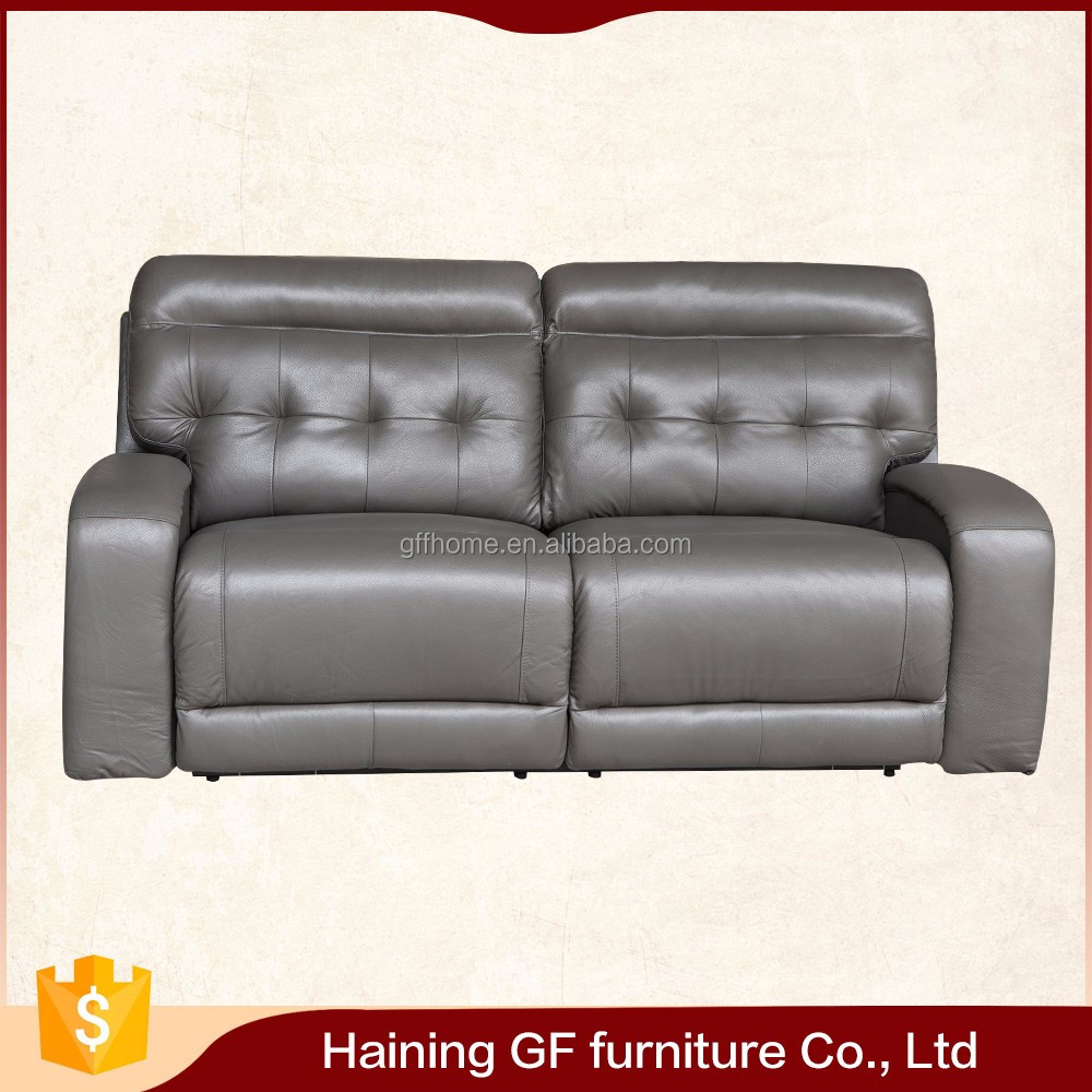 gray leather casual body touches reclining sofas