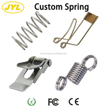Metal steel spiral tension torsion compression coil spring clip