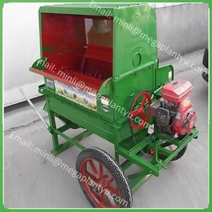 automatic wheat and rice thresher machine /rice threshing machine