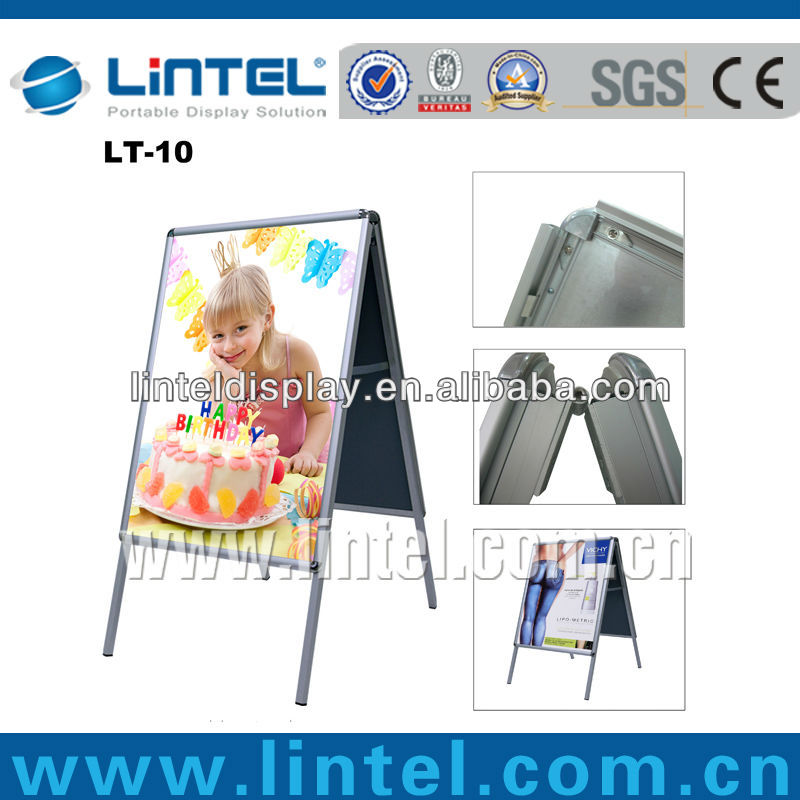 32mm double sided A1 advertising sign board