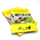 Factory printer coloring leaflets flyers brochure/photo book