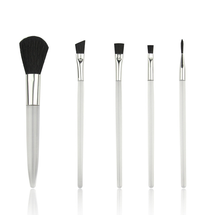 Factory direct customized goat hair mini 5 pieces cheap brushes makeup cosmetic