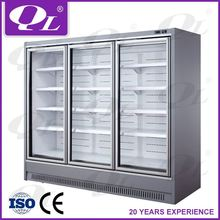Vegetable Display Freezer Supermarket Display Showcase used freezer container