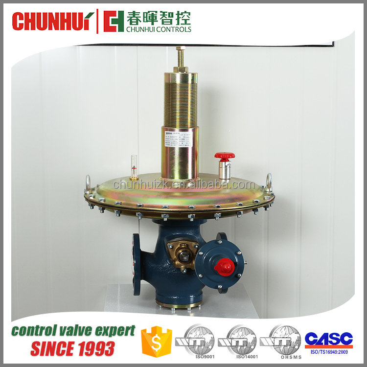 Top quality diaphragm natural gas regulator adjustment