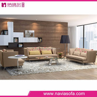 2016 new arrival single loveseat and three seats 1+2+3 seactional modern fabric sofa furniture set