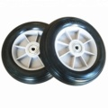 Heat Resistant PU Foam Tire With Metal Core Wheels