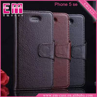 Genuine Cow leather case For iPhone SE / Real leather case for iPhone 5 6 6 Plus