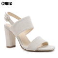 Guangdong factory wholesale high heel woman shoes sandals PL1829