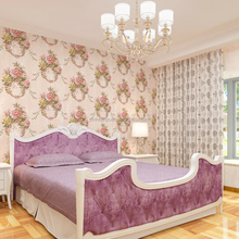 Fashion design non-woven wallpaper for bedroom interior decor
