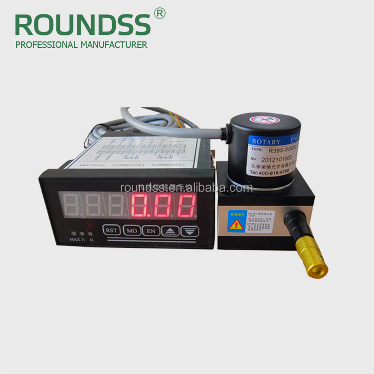 Linear cable transducer/linear speed sensor and Digital Display Meter